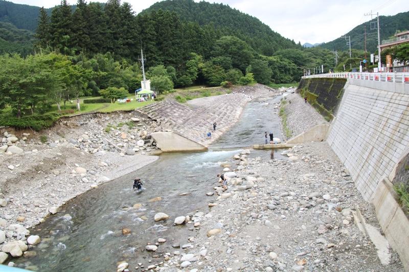 関東一の清流「大芦川」