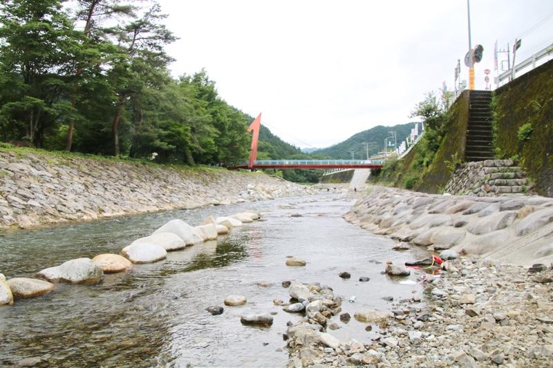 関東一の清流大芦川で水遊び!