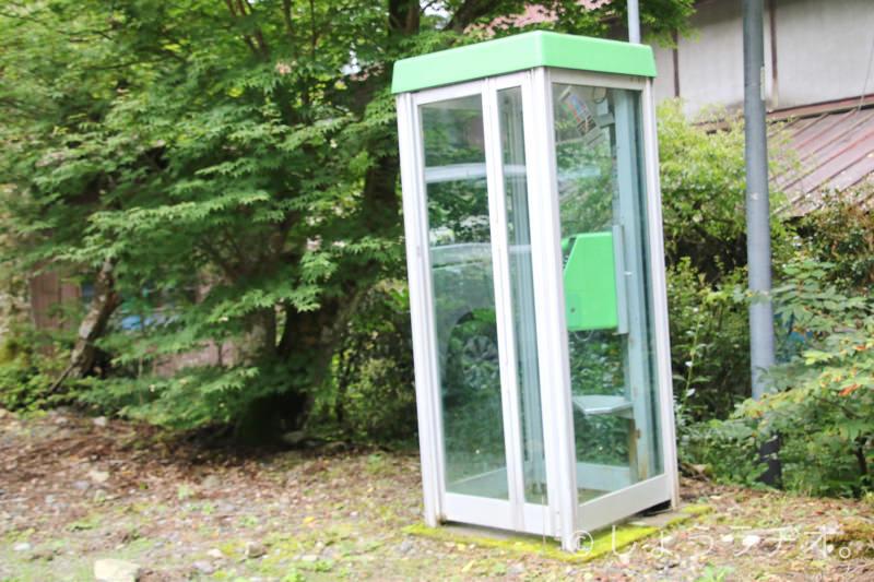 懐かしの電話ボックス