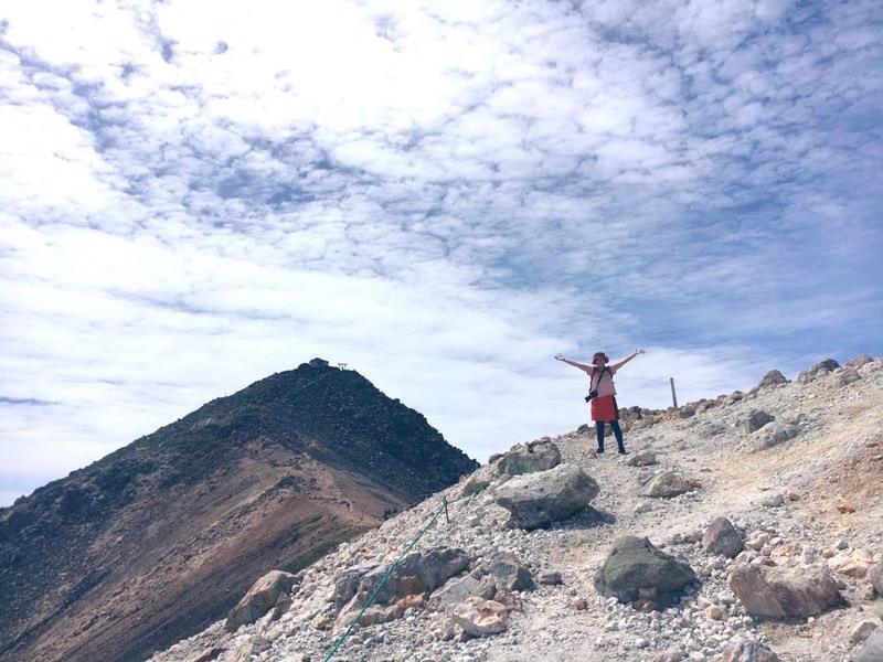 乗鞍岳の剣ヶ峰登山の景色!