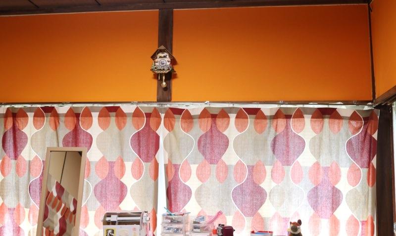 壁紙張り替え後!和モダンな明るい雰囲気に!