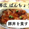 帯広のおすすめランチ!豚丼の人気店「元祖豚丼のお店・ぱんちょう」へ!松竹梅の秘密とは?