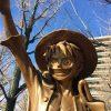 熊本県庁前に「ルフィ像」が登場!【ONE PIECEワンピース】ルフィ像へのアクセス・駐車場も紹介|熊本県