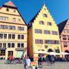 【子連れドイツ旅行5日目】レンタカーでロマンチック街道の街巡り!ヴェルツブルクやローデンブルクへ!